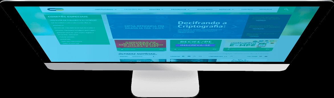 Criação e desenvolvimento de sites e sistemas online