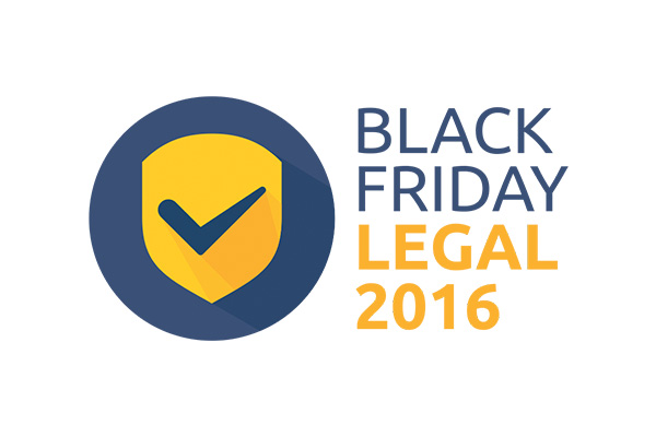 Black Friday Legal 2016